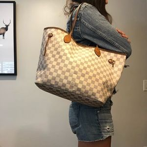 SOLD ON M!Authentic Louis Vuitton Neverfull Azur!!